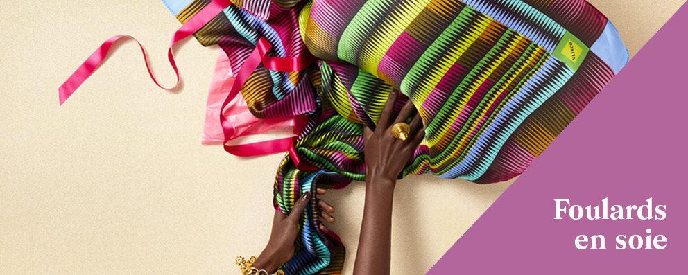 Écharpes de soie