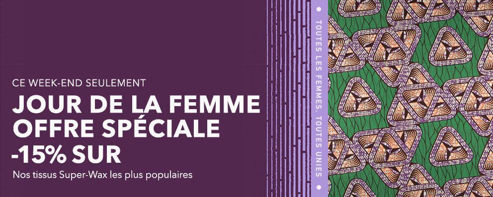 VENTE JOUR DE LA FEMME