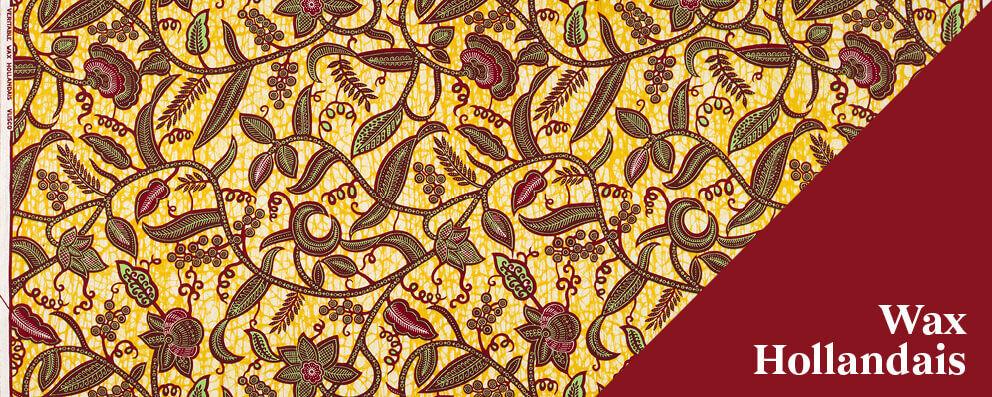 Vlisco Wax Hollandais: a special African wax fabric